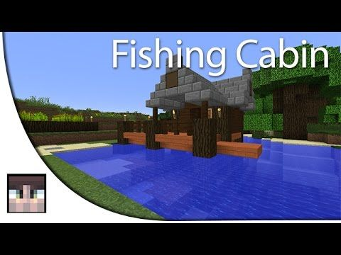Simple Fishing Cabin Minecraft Survival Minecraft Pinterest - Minecraft npc hauser