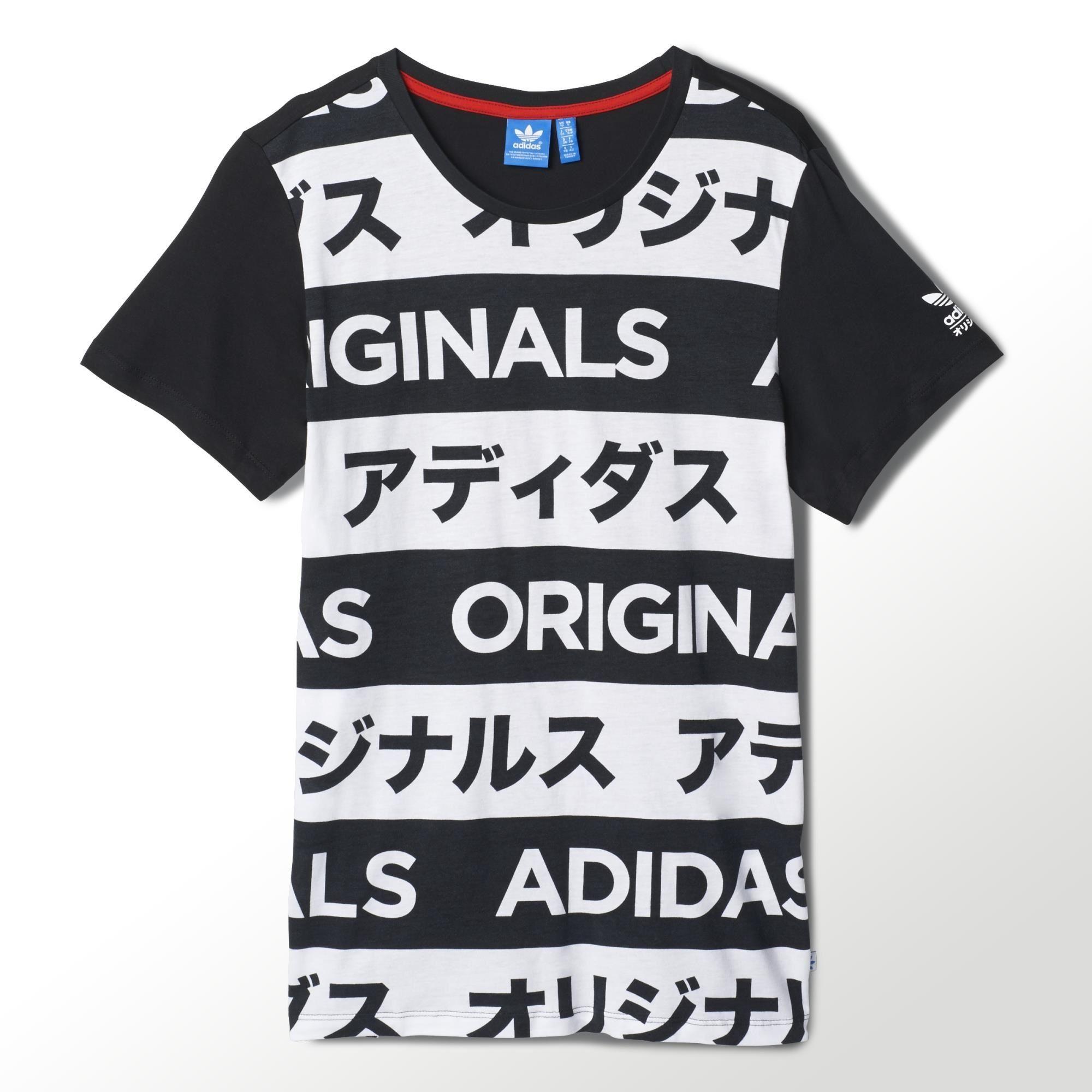 Adidas Allover Print Typo Tee Adidas Us Typo Tees Short Sleeve Shirt Women Printed Shirts [ 2000 x 2000 Pixel ]