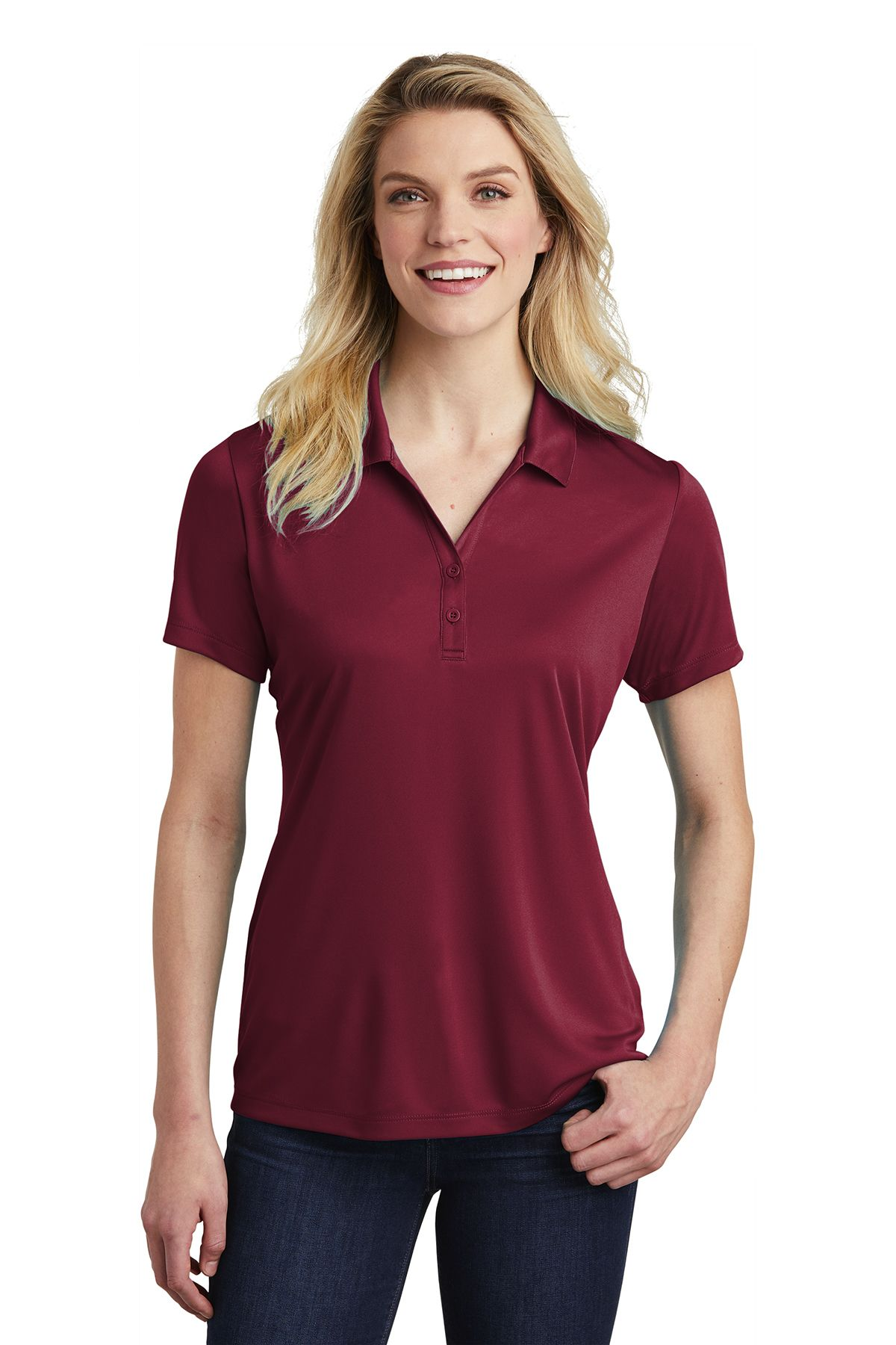 SportTek LST550 Ladies PosiCharge Competitor Polo