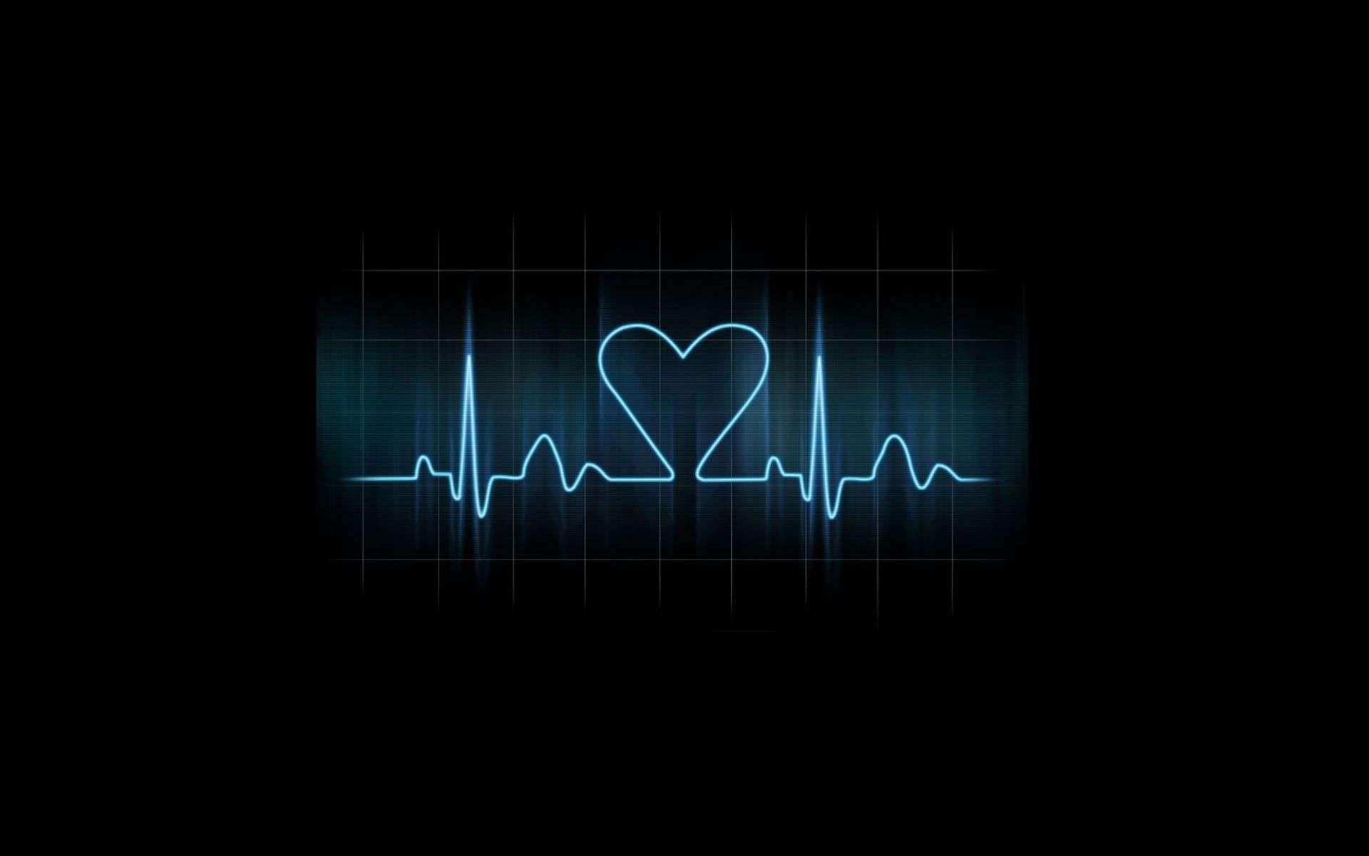 Love Heart Wave Hd Wallpaper Heart Disease Tattoo In A