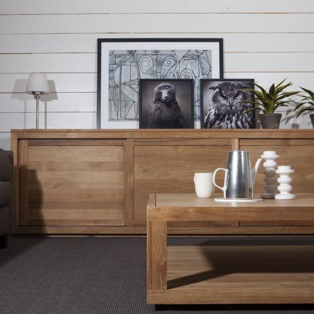 Buffet Et Vitrine Pure Teck Ethnicraft Decoration Maison Mobilier De Salon Mobilier