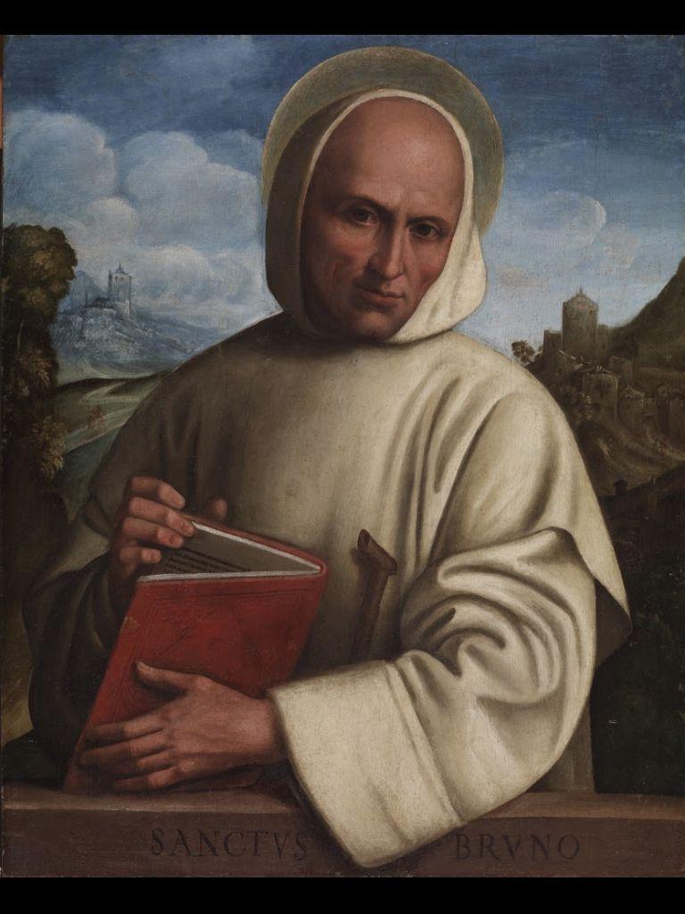 """St. Bruno"" by Girolamo Marchesi."