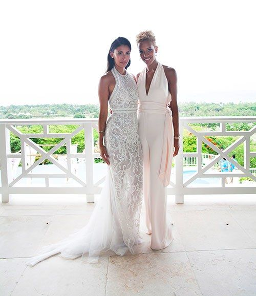 Jamaican Wedding Hairstyle: Peek Inside Fashion Designer Michelle Ochs' Jamaican