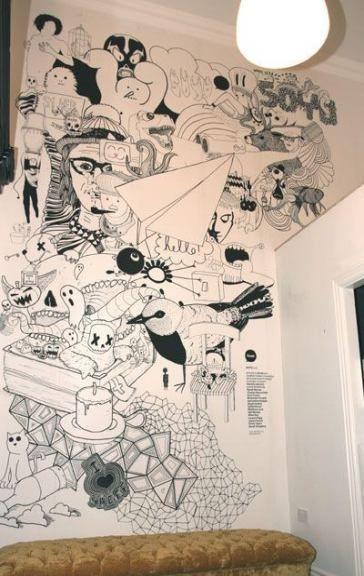 Trendy Wandmalerei Cafe Murals 63 Ideen, #Cafe #Ideas #murals #Painting #PaintingWallsmura ...#café #ideas #ideen #murals #painting #paintingwallsmura #trendy #wandmalerei