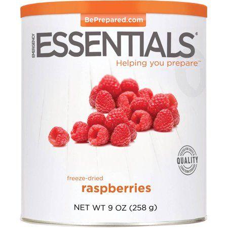 Emergency Essentials Food Freeze-Dried Raspberries, 9 oz - Walmart.com