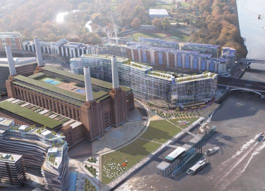 Gehry Partners and Foster + Partners chosen to design Phase 3 of Battersea Power Station in London   Bustler