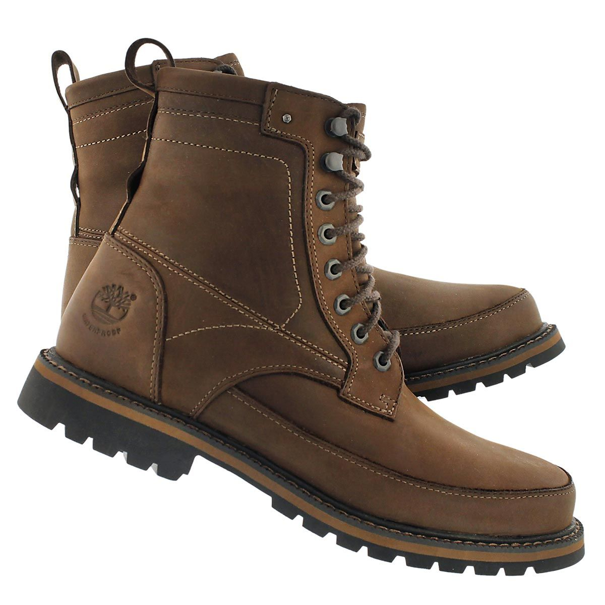 Timberland Men's CHESTNUT RIDGE dark brown waterproof boots TB05535A242