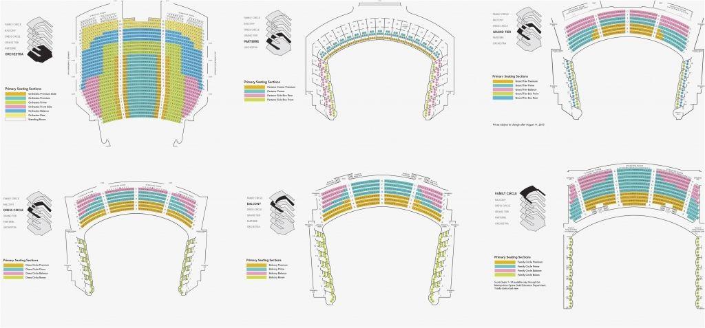 The Amazing met opera seating chart