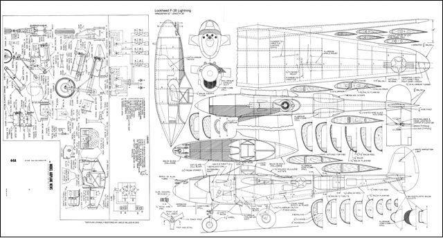 P-38 Plans