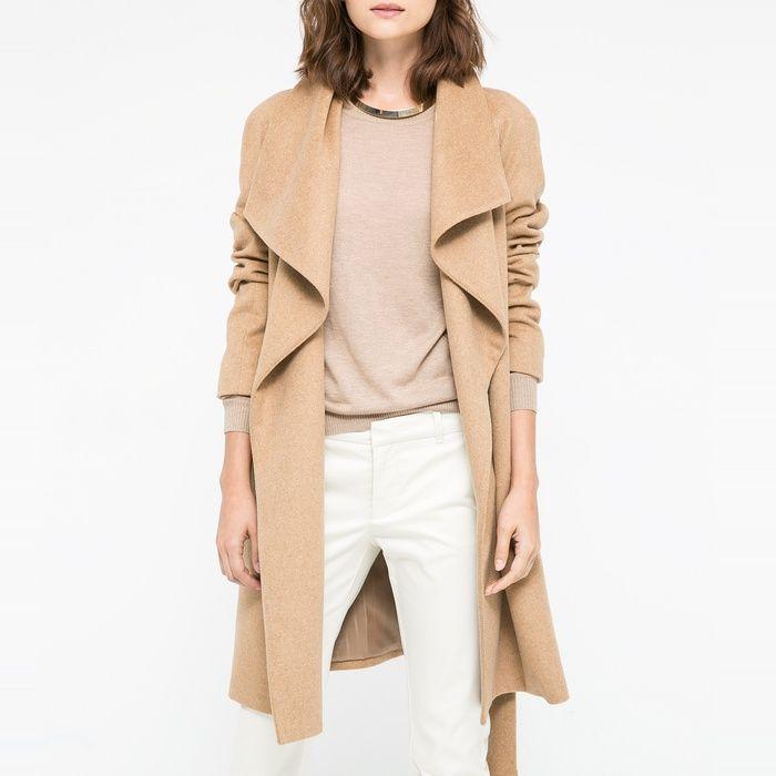 10 Best Mango Lapels Wool-Blend Coat | Lapels, Mango and Camel coat