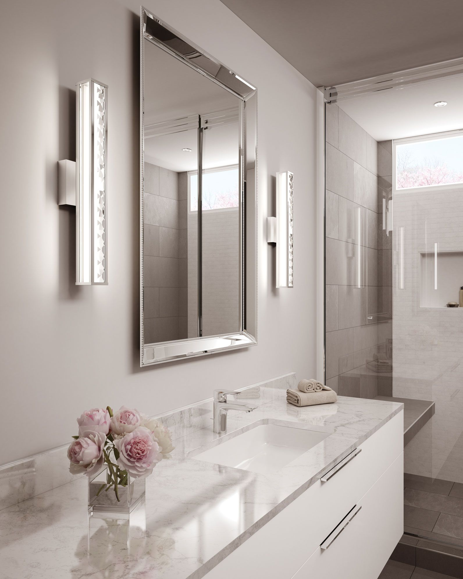 Installation Gallery - Bathroom Lighting - Bathroom Lighting  Feiss