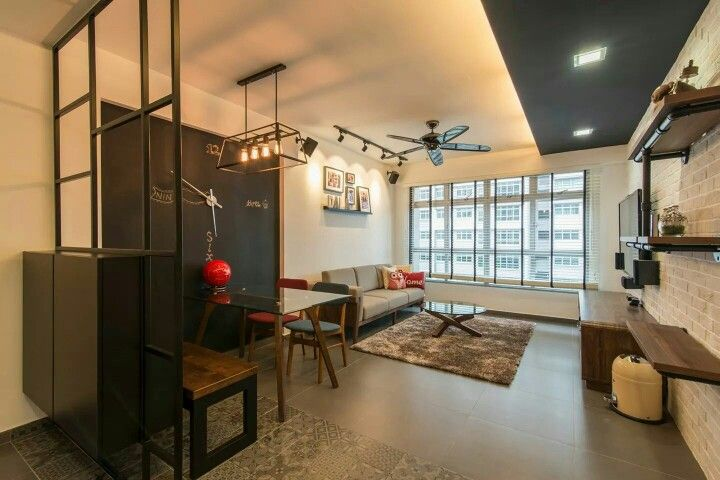 Modern industrial hdb interior design by dexign  deals also living room home interiors pinterest rooms rh
