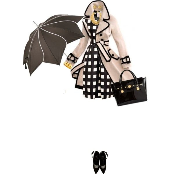 """""""Rainy Day Look"""" by angela-windsor on Polyvore"""