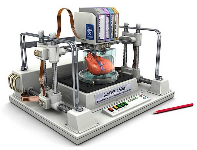 concept 3D Printer | Concept of Bioprinting a Human Heart
