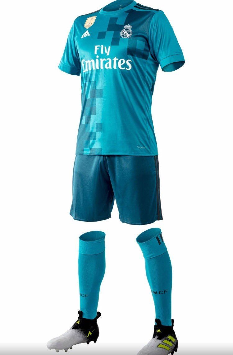 25b9733fb1b Real Madrid 2017 2018 Third Kit