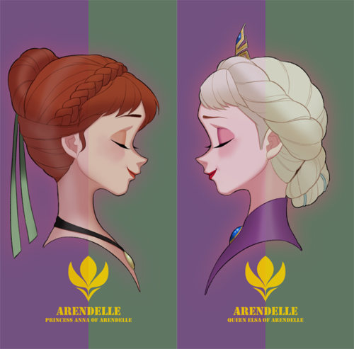 Queen and princess of Arendelle :)