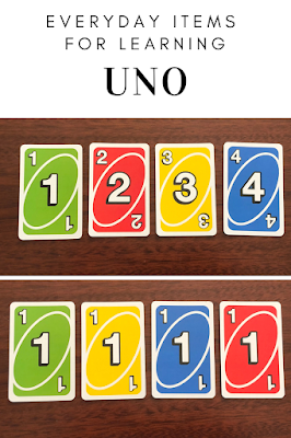 Le Giggler Every Day Items For Learning Uno Cards Uno Cards Preschool Activities Toddler Activities