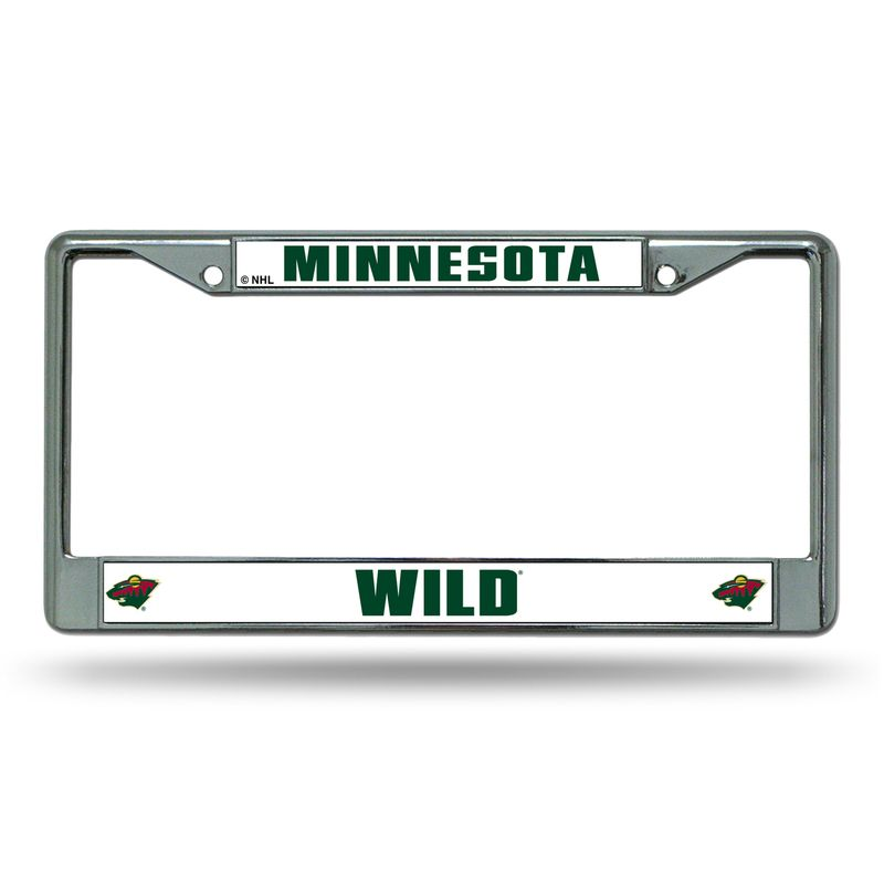 Minnesota Wild Chrome License Plate Frame | Products