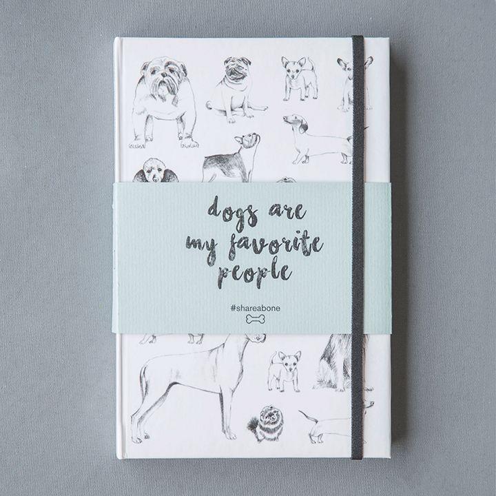 A pesar de que nos encantan los gatos, las cacatuas, los caballos, los canarios y demás, los perros son nuestros favoritos. Libretas ilustradas. Pregunta por el diseño disponible y precio en el 3116179030.  #DogsAreMyFavoritePeople #WeAreMolly #WeLoveDogs #MollyAndTheBone #BetweenBestFriends #dog #illustrated #notebook