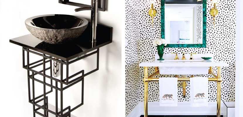 ideas de lavabos originales para el bao