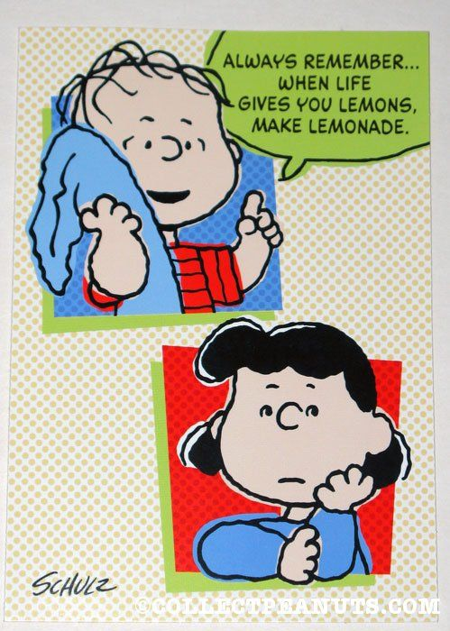 Peanuts general greeting cards cards 2 pinterest snoopy peanuts general greeting cards collectpeanuts lucy linus life gives you lemons greeting card m4hsunfo