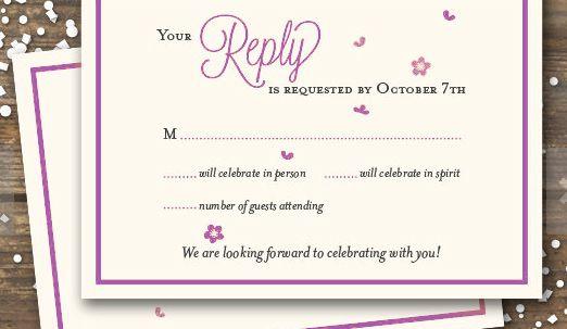 Online Wedding Invitation Wordings: Wedding RSVP Wording Guide 2019