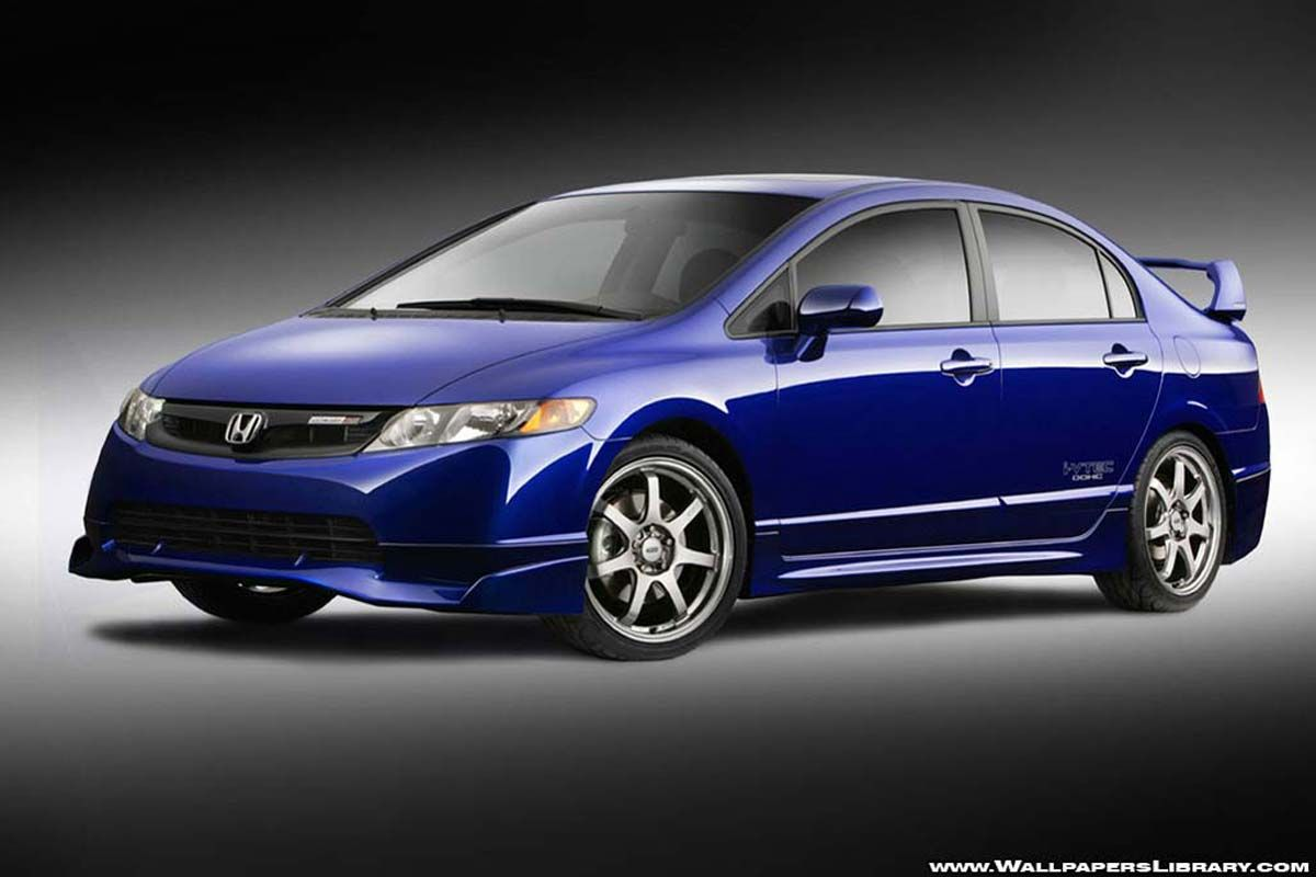 Honda Civic Mugen Si Sedan A Factory Prepared 2008 Will Debut In Mid October The Is Equipped With
