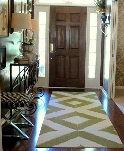 Carpet Tiles Put Together To Make A Runner I Like This Idea Might Try It In My Entrance