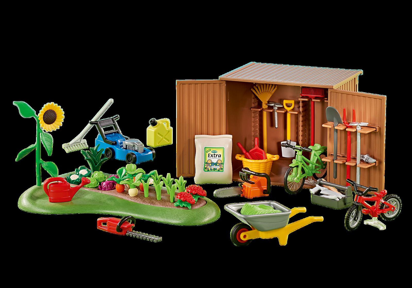 Gartenschuppen 6558 PLAYMOBIL® Deutschland (mit