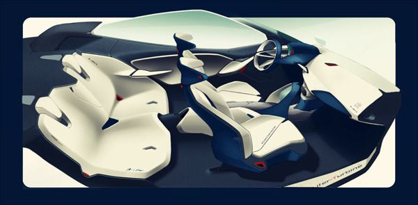Concept LAN for Genesis Hyundai by Tianye Wang, via Behance