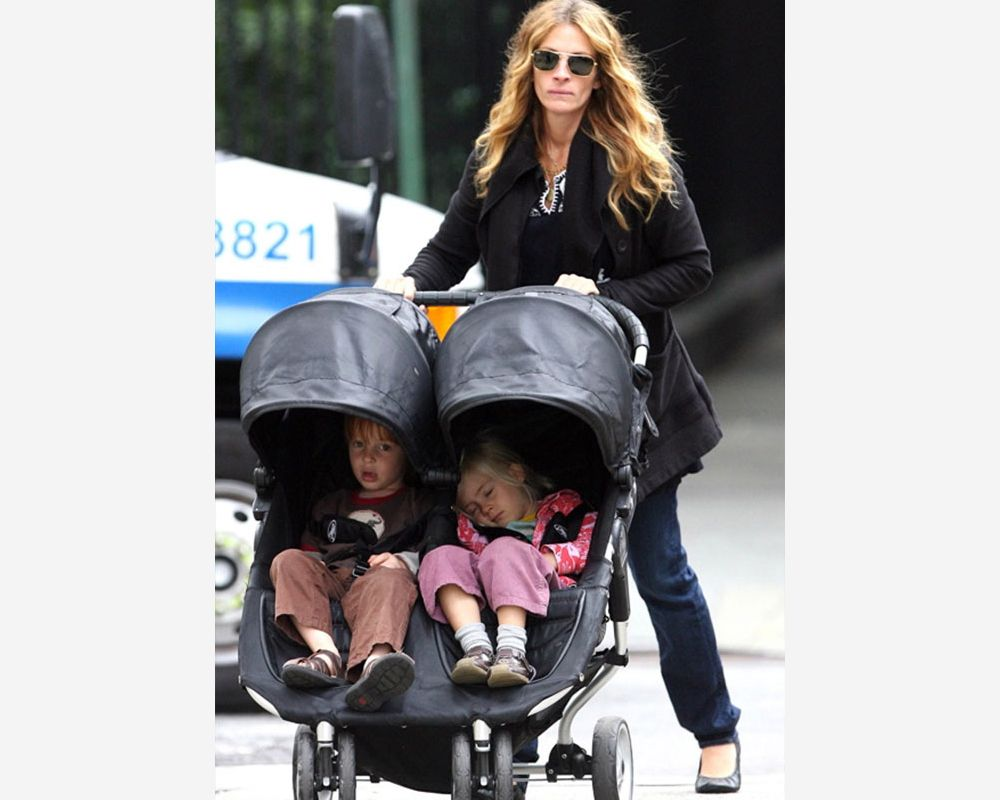 Babyzimmer Julia ~ Julia roberts baby jogger city mini double baby jogger