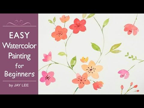 LVL2 Easy Watercolor Painting For Beginners
