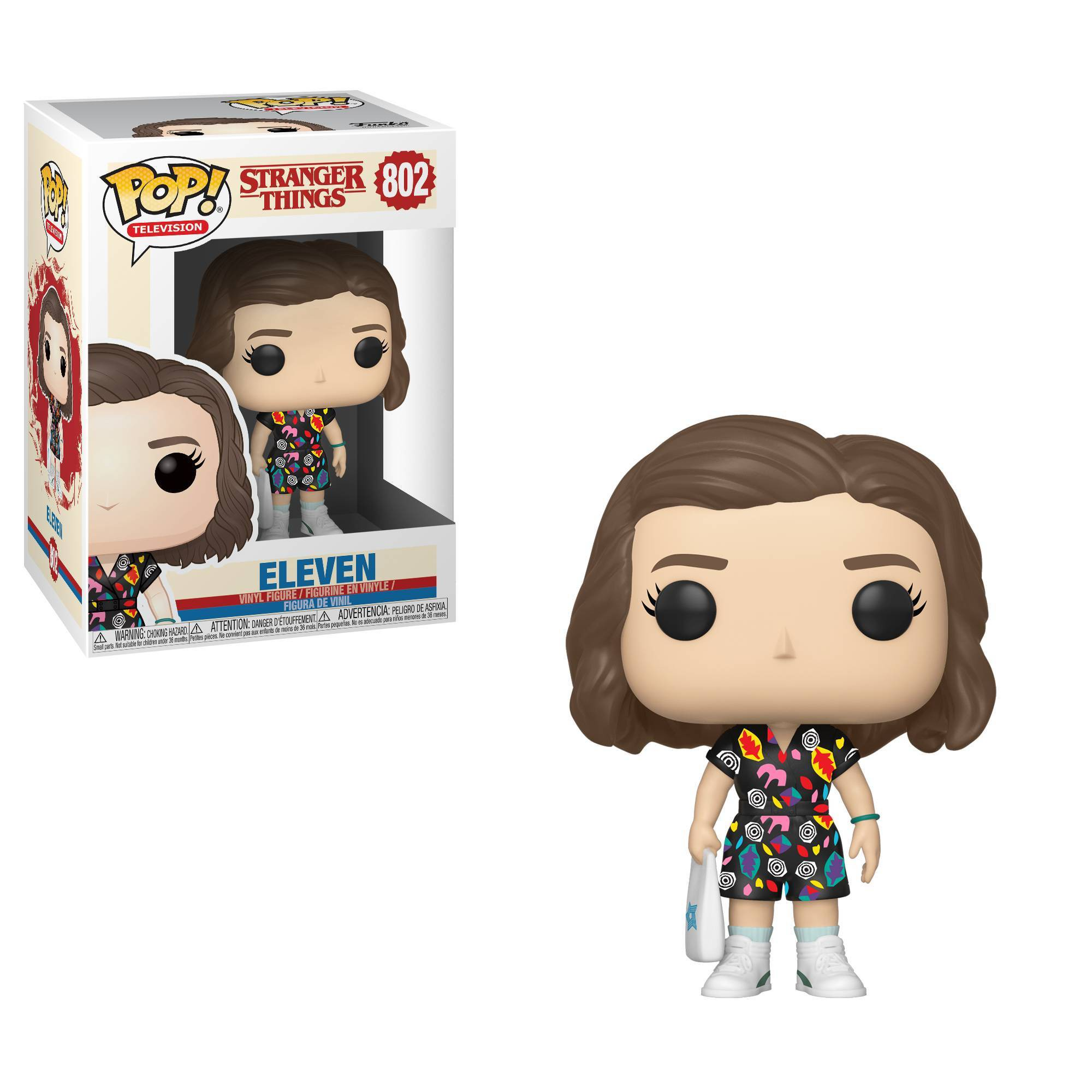 Funko Pop Television Stranger Things Eleven Mall Outfit Stranger Things Funko Pop Pop Vinyl Figures Vinyl Figures