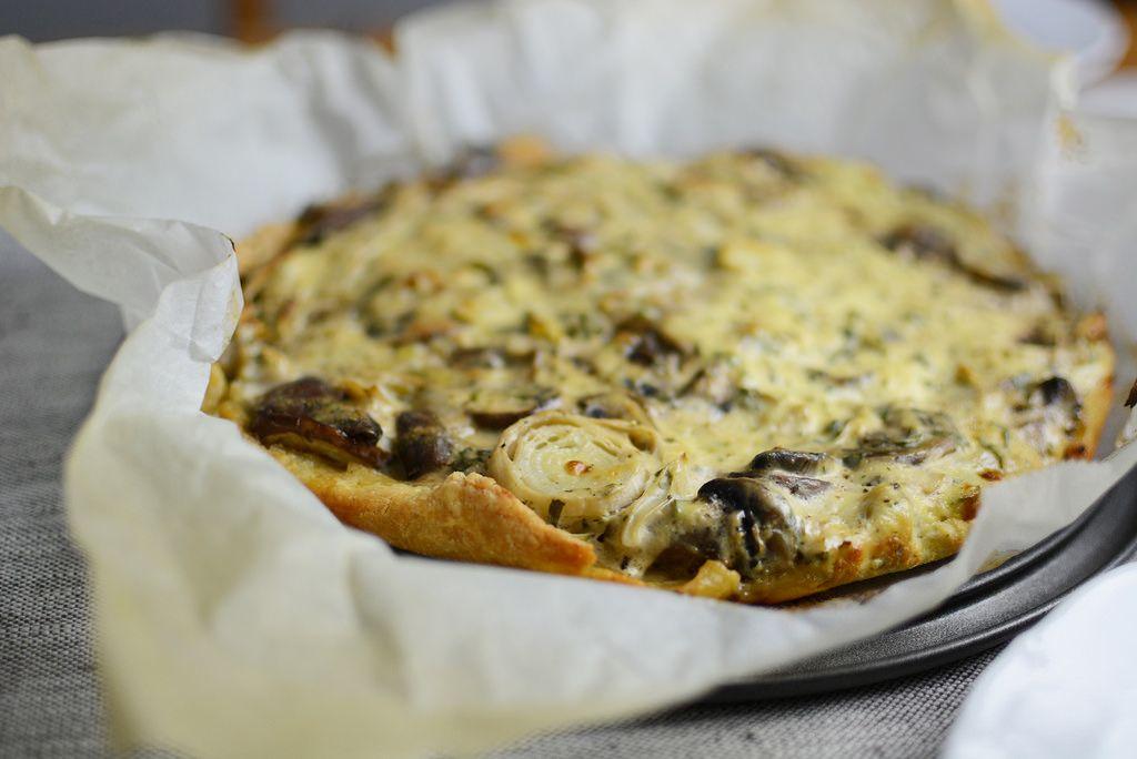 Pixi mit Milch   Rezept: Champignon-Lauch-Quiche   http://www.mitmilch.at/pixi