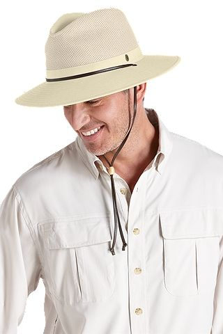 Crushable Ventilated Hat  Sun Protective Clothing - Coolibar  94b3dd07a49