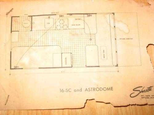 shasta astrodome 16 sc floorplan with rear bathroom shasta 16sc 7 blade trailer connector diagram shasta astrodome 16 sc floorplan with rear bathroom shasta trailer, shasta camper,