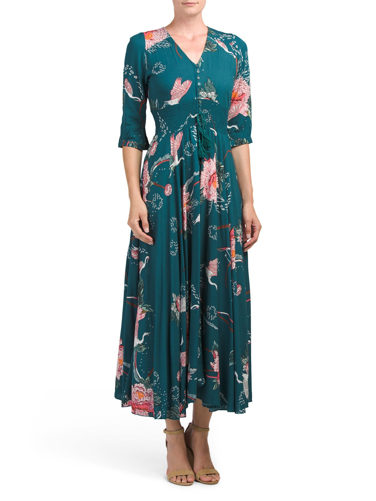 Juniors indiana floral maxi dress products pinterest floral