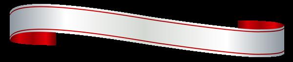 Белый и Красный Баннер PNG изображения Clipart | Уголки ...