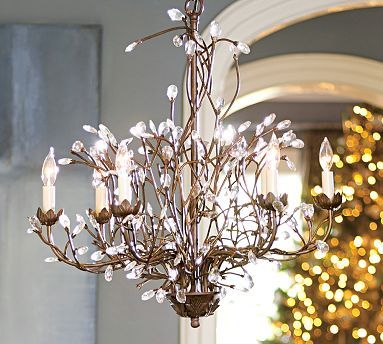 Camilla 6-Arm Chandelier | Pottery barn chandelier ...