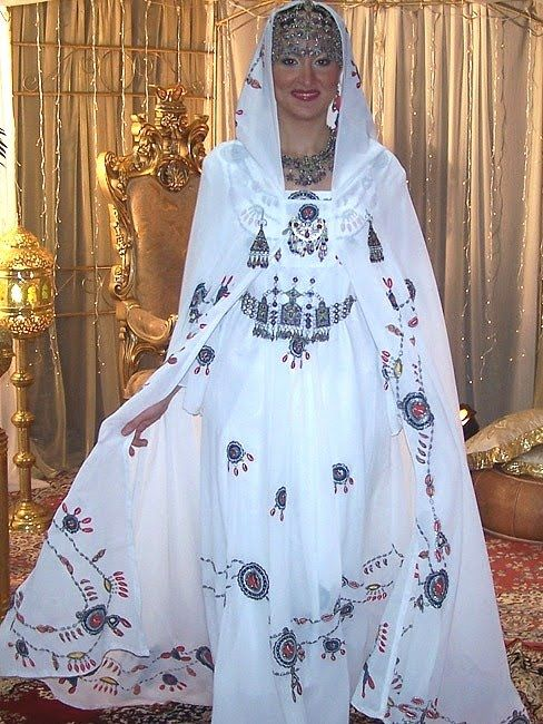 Assez Robe et burnous assortis- Kabylie | mode | Pinterest | Burnous  KW85