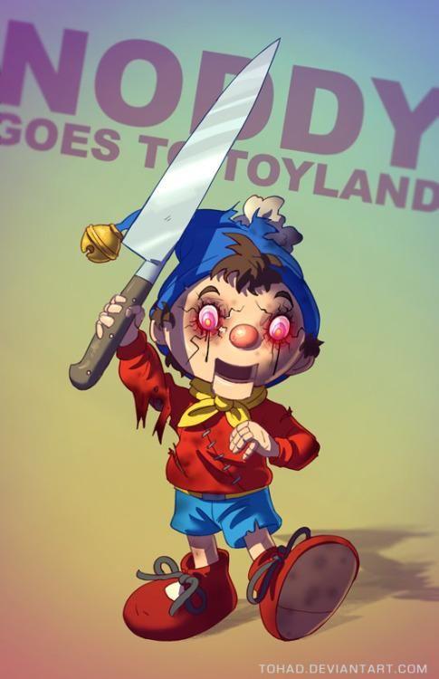#Noddy #ChildhoodRuined