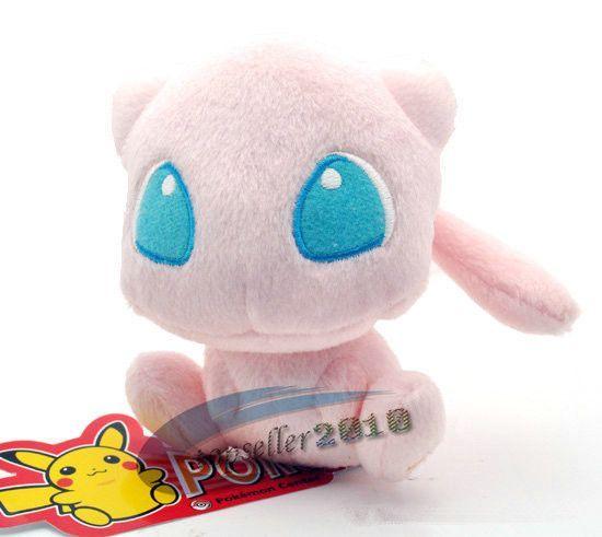 J G Chen Free Shipping Japanese Anime Pokemon Mew Plush Toy 5