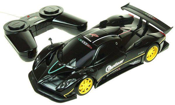 1 24 Scale Black Zonda Pagani R Remote Control Car In Official Bbc