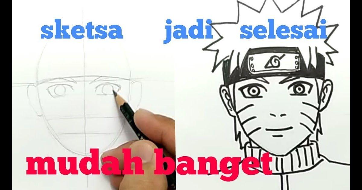 30 Gambar Kepala Naruto Keren Tutorial Menggambar Wajah Naruto Dengan Sketsa Pensil Dulu Mudah Banget Anak Kecil Juga Bisa Gambar Menggambar Kepala Sketsa