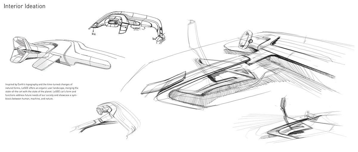 Lesee On Behance Car Interior Sketch Design Sketch Interior Sketch