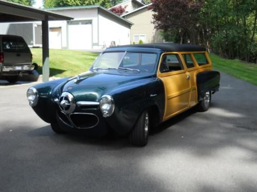 1950 Studebaker Champion Wood Custom Studebaker Cars Trucks