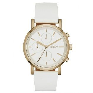 Dkny Ny2337 Bayan Kol Saati Leather Straps White Leather Watches