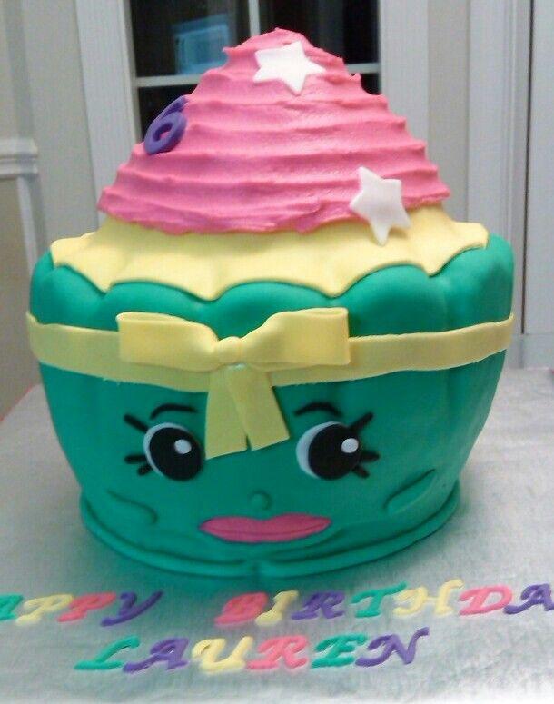 Patty Cake Shopkin Happy 6th Birthday Lauren Kvk Catering Cakes