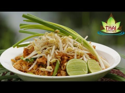 Thai noodles pad mie moo recipe duncans thai kitchen youtube food forumfinder Gallery