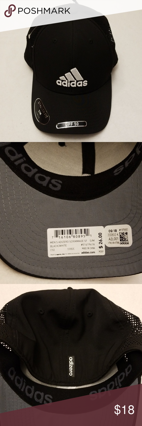 Descompostura frio gramática  Adidas black baseball hat, S/M NWT | Black adidas, Adidas women, Adidas